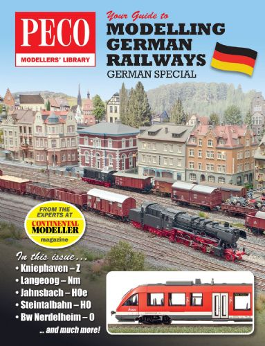 PM-207  PECO Modeller's Library Your Guide to Modelling German Railways